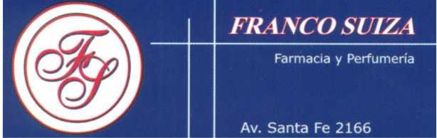 BENEFICIO FARMACIA FRANCO SUIZA